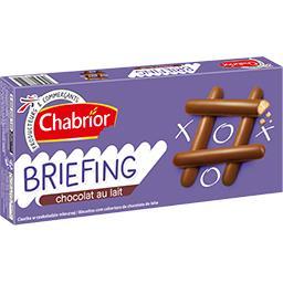 Briefing chocolat au lait