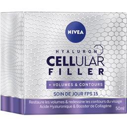 Nivea Nivea Soin de jour Cellular Filler+ Volumes Contours FPS 15 le pot de 50 ml