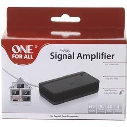 Amplificateur de signal 4 sorties +20DB filtre 4G Full HD