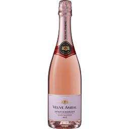 Veuve Ambal Veuve Ambal Crémant de Bourgogne rosé cuvée tradition la bouteille de 75 cl