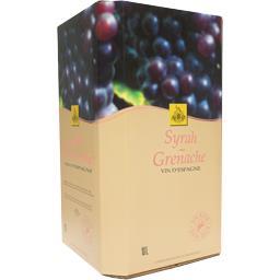 Vin d'Espagne Syrah Grenache, vin rosé