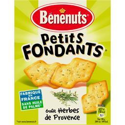 Bénénuts Crakers Apéro Cracks goût herbes de Provence la boite de 85 g