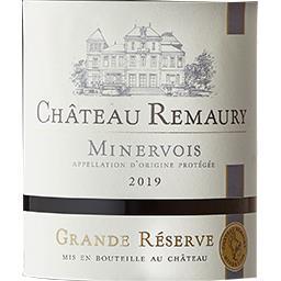 Minervois Château Remaury vin Rouge 2017