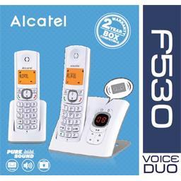 Téléphone fixe F530 Duo gris