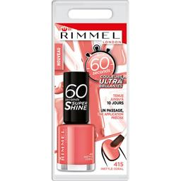 60 Sec Super Shine - Vernis à ongles Instyle Coral 415