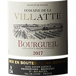 Bourgueil Domaine de la Villatte vin Rouge 2017