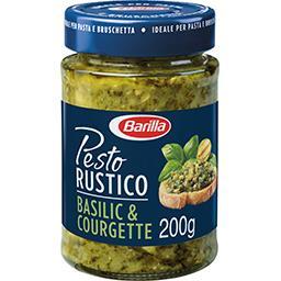 Barilla Barilla Pesto Rustico basilic et courgettes le pot de 200 g