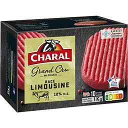 Steaks hachés Le Grand Cru pur bœuf limousin