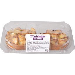 Sélectionné par votre magasin Tartelettes aux pommes la barquette de 2 - 240 g