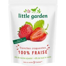 Tranches craquantes 100% fraise