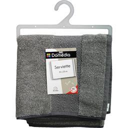 Serviette 50x100 cm gris