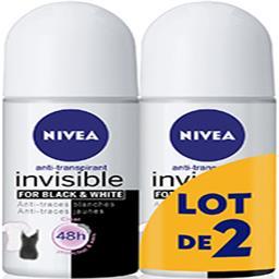 Anti-transpirant 48 h Invisible for Black & White