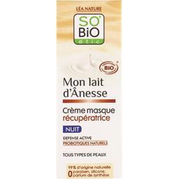 SO'BiO étic So'bio Etic Mon Lait d'Ânesse - Crème masque récupératrice nuit le flacon de 50 ml
