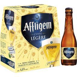 Affligem Affligem Bière blonde Cuvée Légère les 6 bouteilles de 25 cl