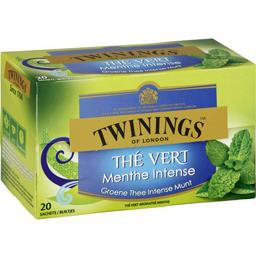 Thé vert menthe intense