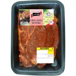 Côtes de porc marinées à la sauce provençale