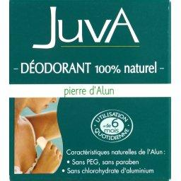 Déodorant 100% naturel à la pierre d'Alun
