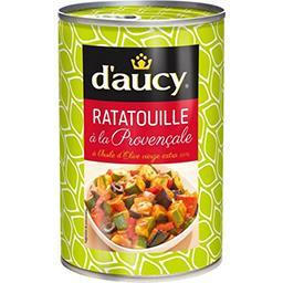 D'aucy D'aucy Ratatouille à la provençale à l'huile d'olive vierge extra la boite de 375 g