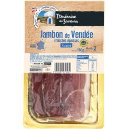 Jambon de Vendée tranches épaisses à cuire