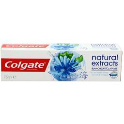Colgate Colgate Dentifrice Natural Extracts blancheur éclatante le tube de 75 ml