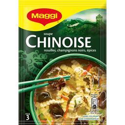 Maggi Maggi Soupe chinoise, nouille champignons noirs épices le sachet de 60 g
