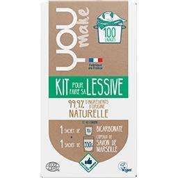 You You make Kit lessive La boîte de 420g