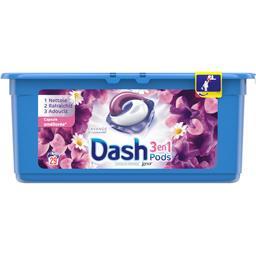 Dash 3en1 - pods - lavande - lessive en capsules - 29 lav...