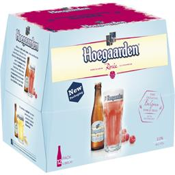 Bière rosée