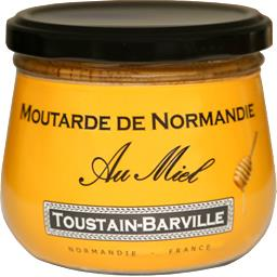 Toustain-Barville Moutarde de Normandie au miel le pot de 260 g