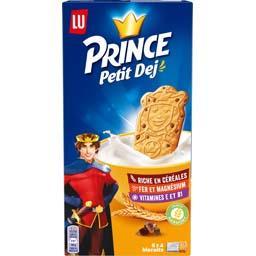 Prince - Biscuits Petit Déj' céréales pépites de cho...