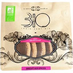 310 Bio Biscuit aux épices bio Le sachet de 150 gr