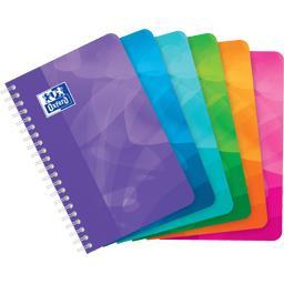 Carnet intégrale 110x170 90 g Q 5/5 coloris assortis