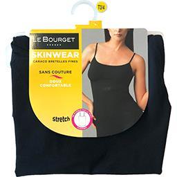 Caraco Skinwear bretelles fines taille 1/2 noir
