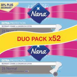 Nana Extra Protection - Protège-lingerie super absorbant ... les 2 boites de 26