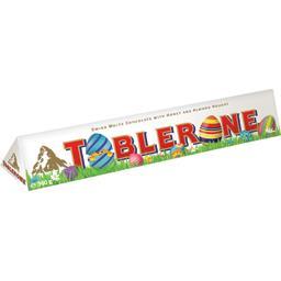 Toblerone Chocolat blanc nougat miel et amandes le paquet de 360 g