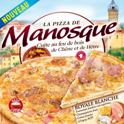 Pizza Royale blanche