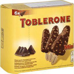 Toblerone Toblerone Mini bâtonnets de glace goût chocolat miel avec morceaux la boite de 6 - 216 g