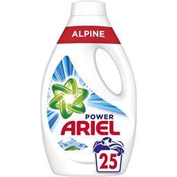Ariel Ariel Alpine power, lessive liquide La bouteille de 25 lavages