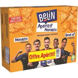 Belin Monaco - Assortiment de crackers Apéritif Monaco la boite de 680 g - Offre Apéritif