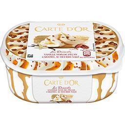 Les Desserts - Glace vanille noix pécan caramel beurre salé