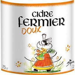 Cidre fermier doux