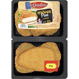 Le Gaulois Le gaulois Le Maxis Pané de dinde la barquette de 10 - 1 kg