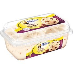 Nestlé La Laitière Crème glacée rhum raisins le bac de 510 g