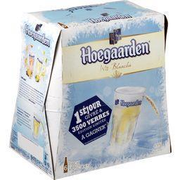 Hoegaarden Hoegaarden Bière blanche les 6 bouteilles de 25 cl