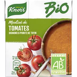 Knorr Knorr Mouliné de tomates oignons et pointe d'herbes BIO la brique de 0,3 l