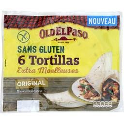 Tortillas extra moelleuses orignal sans gluten