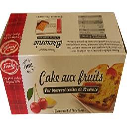 Forchy Cake aux fruits pur beurre et cerises de provence La boite de 300gr