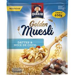 Céréales Golden Muesli dattes & noix de coco