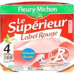 Jambon cuit de qualité supérieure Label Rouge