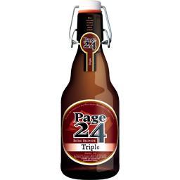Page 24 Bière blonde Triple la bouteille de 33 cl